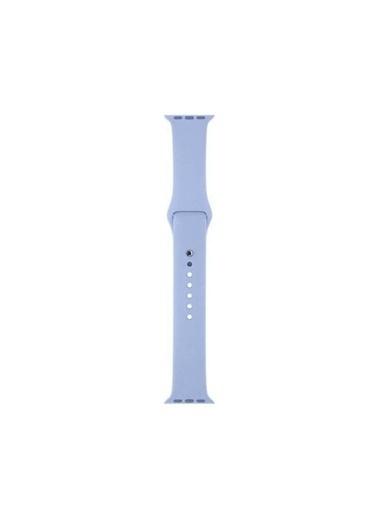 Apple Apple Watch Sport Band Lila Silikon Saat Kordonu 42-44 Mm Renkli